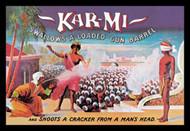 KarMi Swallows a Loaded Gun Barrel