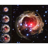 Flash from Star V838 Monocerotis Echoes through Space