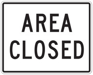 Area Closed Wall Graphic