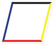 Rhombus Wall Graphic