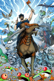 Axe Cop in the Year 0,000,0