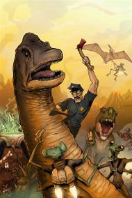 Aliens VS Dinosaurs