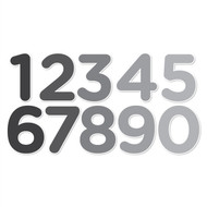 Numbers Set I (Grayscale)