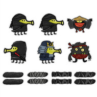 Doodle Jump Ninjas Special Set of 14 Wall Graphics (12 inch)