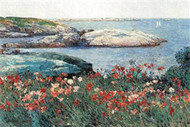 Poppies, Isle of Shoals by Hassam