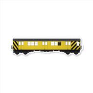 All City Style Premium Classic Train Wall Graphics: Work Train