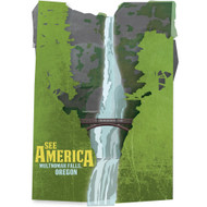 Multnomah Falls, Lewis and Clark National Historic Trail by Design by Goats