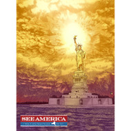 Statue of Liberty National Monument by Brixton Doyle