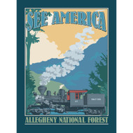 Allegheny National Forest by Don Henderson