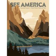 Cascade Canyon, Grand Teton National Park by Jonathan Scheele