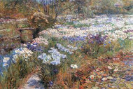 Water Garden by Hassam