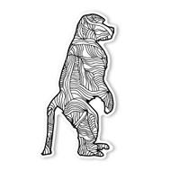 Begsonland Macaque Doodle Decal