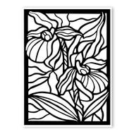 Begsonland Iris Doodle Decal