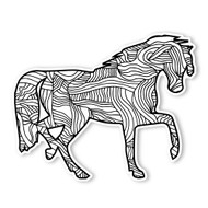 Begsonland Horse Doodle Decal