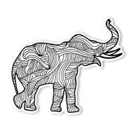 Begsonland Elephant Doodle Decal
