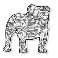 Begsonland Maximus Bulldog Doodle Decal