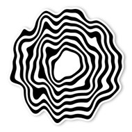 Begsonland Melting Circle Doodle Decal