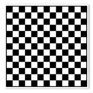 Begsonland Checker Board Doodle Decal