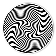 Begsonland Twisting Circle Doodle Decal