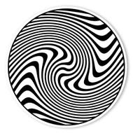 Begsonland Twisting Circle Doodle Decal