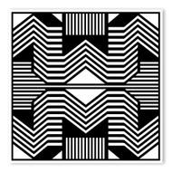Begsonland Optical Lines Doodle Decal
