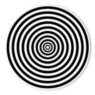 Begsonland Optical Bullseye Doodle Decal