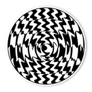 Begsonland Circle Wave Doodle Decal