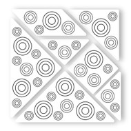 Begsonland Wall Tangram: Coloring Circles