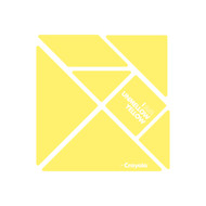 CrayoIa Wall Tangram: I AM Unmellow Yellow