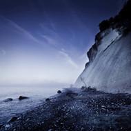 Seaside And Chalk Mountain In The Evening Mons Klint Cliffs Denmark