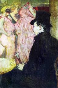 Maxim Dethomas by Toulouse-Lautrec
