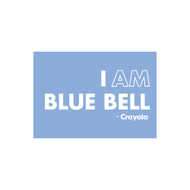Crayola Colors Wall Graphic: I AM Blue Bell