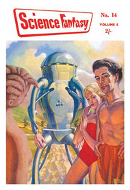 Science Fantasy Robot with Human Friends