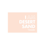 Crayola Colors Wall Graphic: I AM Desert Sand