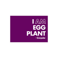 Crayola Colors Wall Graphic: I AM Egg Plant