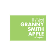 Crayola Colors Wall Graphic: I AM Granny Smith Apple