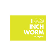 Crayola Colors Wall Graphic: I AM Inch Worm