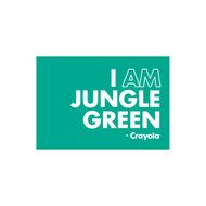 Crayola Colors Wall Graphic: I AM Jungle Green