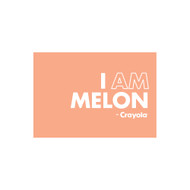 Crayola Colors Wall Graphic: I AM Melon