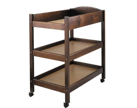 52932465f6dbe King Parrot SCOUT 3 tier change table - Heritage Teak