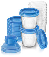 Avent 10 reusable breast milk storage cups