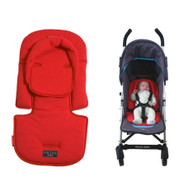Cherry Red  in stroller (stroller and baby not included)