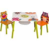 Forest and Friends Kiddies Table and Chair set by OOPS