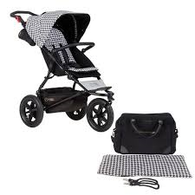 "Mountain Buggy Urban Jungle ""Luxury"" - Pepita - display"