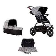 Mountain Buggy Urban Jungle Luxury + Carry Cot+ - Pepita