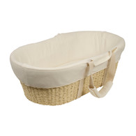 Moses Basket - Cream