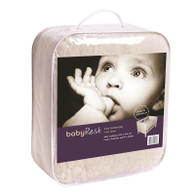 babyRest Lambswool Fully Fitted Cot Underlay 1300x690