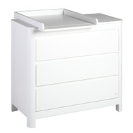 Change Top in White finish [shown on Sun 3-drawer Dresser (sold separately)]