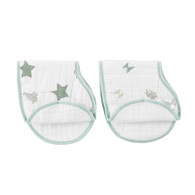 aden + anais classic burpy bibs 2-pack up up+ away