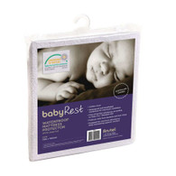 babyRest Waterproof Mattress Protector Large Cot 1310x760